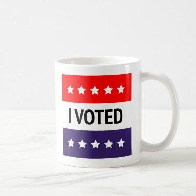 I Voted Coffee Mug