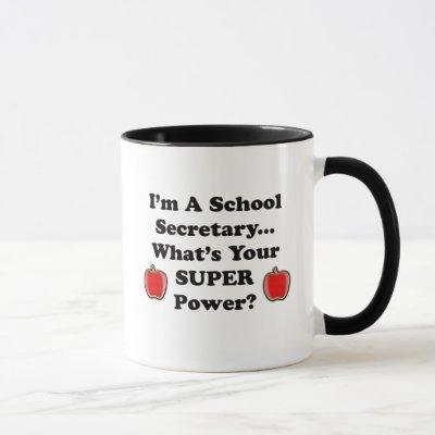 I'm a School Secretary Mug