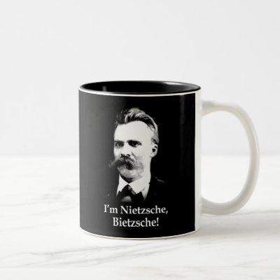I'm Nietzsche, Bietzsche! Two-Tone Coffee Mug
