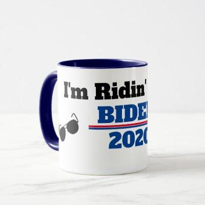 I'm Ridin' with Biden in 2020 Mug