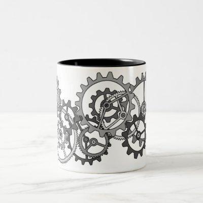 Impossible gears mug