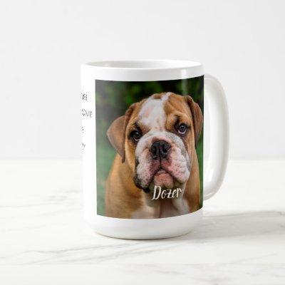 In Loving Memory Pet Memorial Photo Coffee Mug