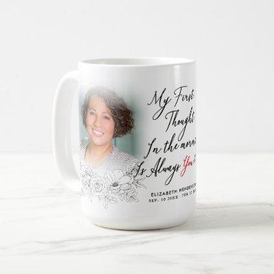 In Loving Memory Photo Coffee Mug
