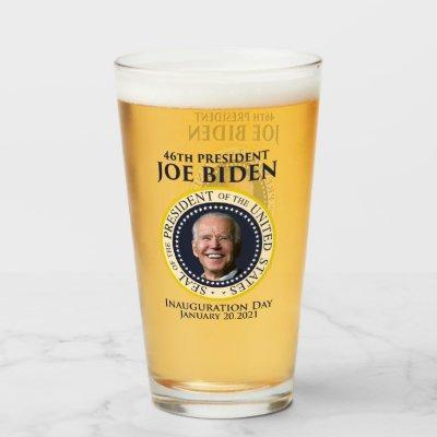 Inauguration day 2021 president Biden Glass