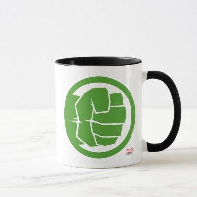 Incredible Hulk Logo Mug