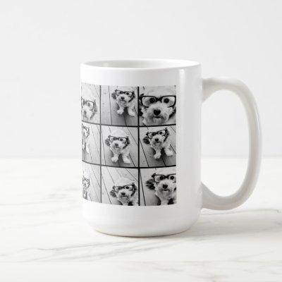Instagram Photo Collage with 9 square photos Coffee Mug