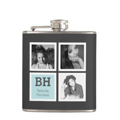 Instagram Selfies Personalized Photo with Name Flask