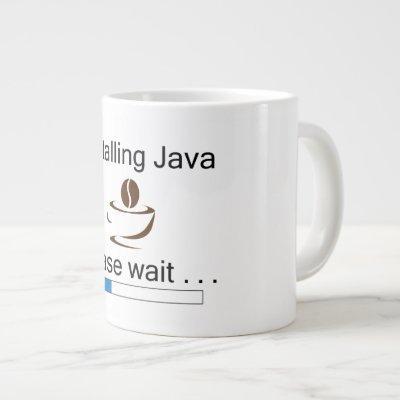 Installing Java Coffee Mug