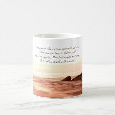 It is Well With My Soul, Beloved Hymn Coffee Mug