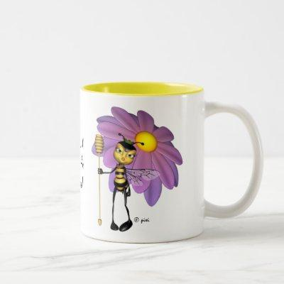 """""""It's good to be the Queen"""" - Bee Mug"""