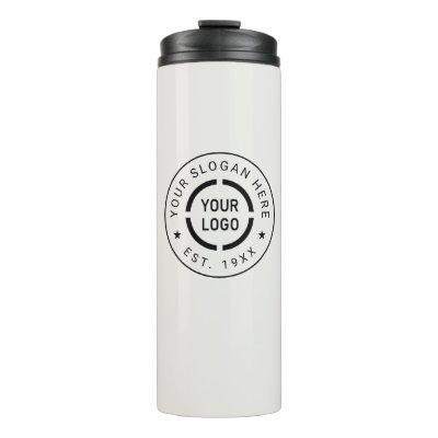 Ivory custom Logo branded promotional Thermal Tumb Thermal Tumbler