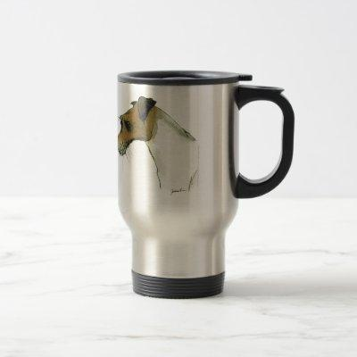 jack russell terrier, tony fernandes travel mug
