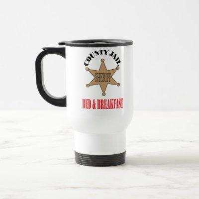 Jail Bed & Breakfast Mug