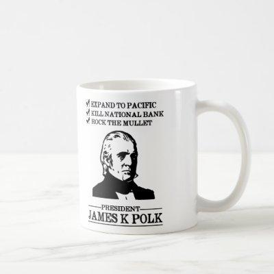 James K Polk Coffee Mug