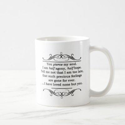 Jane Austen Persuasion Quote Coffee Mug