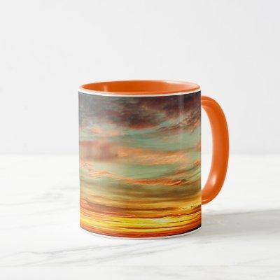 January Sunset Sky Mug