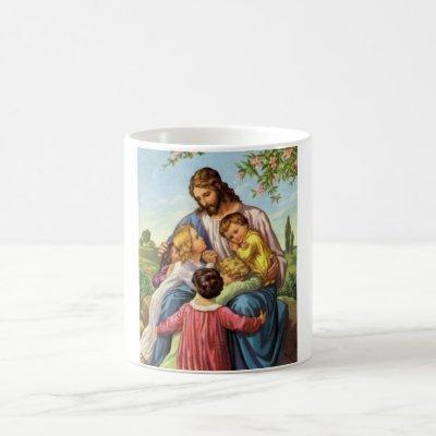 Jesus Loves Children Mug