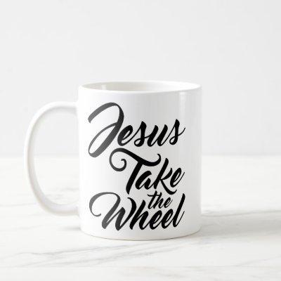 Jesus Take the Wheel Coffee Mug