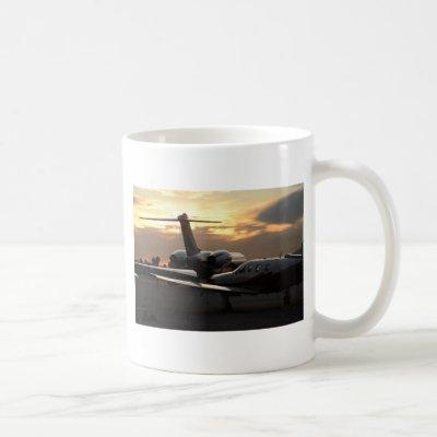 Jet Aircraft Coffee Mug