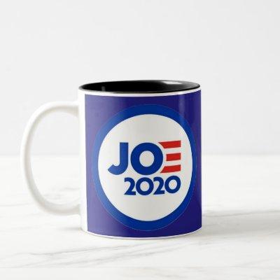Joe Biden 2020 logo Two-Tone Coffee Mug