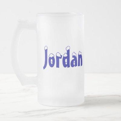Jordan-Frosted Mug
