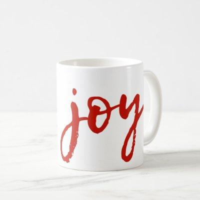 Joy Jumbo Holiday Coffee Mug