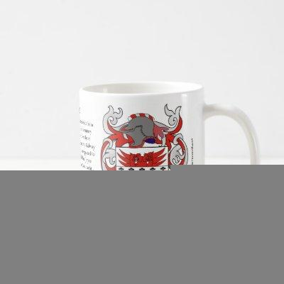 Joyce Family Coat of Arms Mug