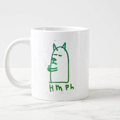 Jumbo hmph mug in green