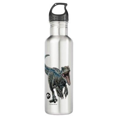 Jurassic World | Blue - Nature's Got Teeth Stainless Steel Water Bottle