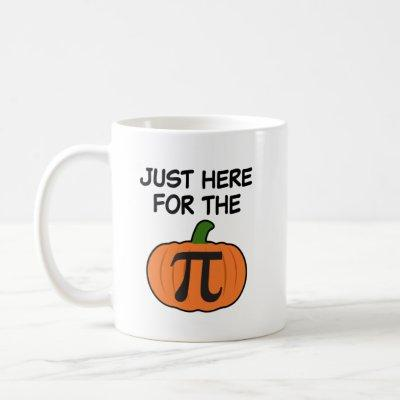 Just here for the Pumpkin Pi Mug Holidays gift