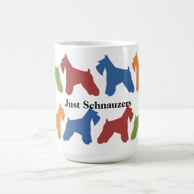 Just Schnauzers Coffee Mug