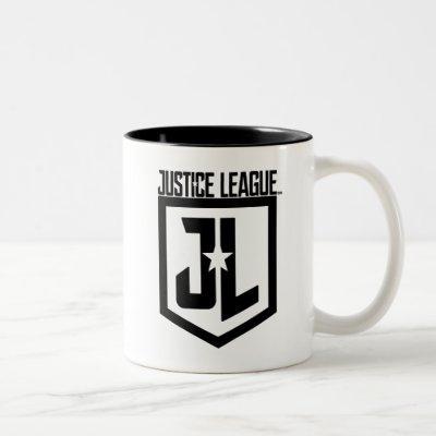 Justice League | JL Shield Two-Tone Coffee Mug