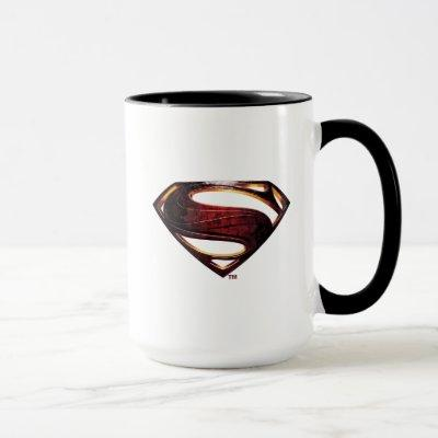 Justice League | Metallic Superman Symbol Mug