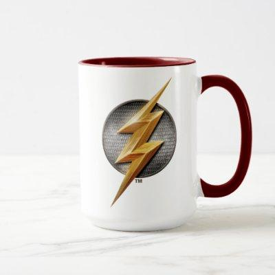 Justice League | The Flash Metallic Bolt Symbol Mug