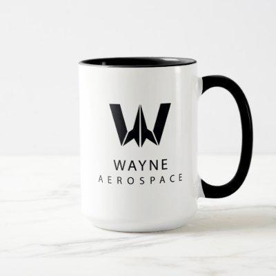 Justice League | Wayne Aerospace Logo Mug
