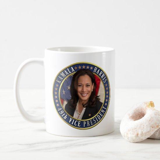 Kamala Harris 49th Vice President Commemorative Coffee Mug