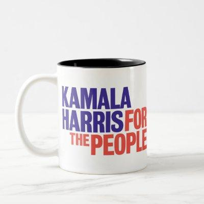 Kamala Harris for President 2020 Two-Tone Coffee Mug