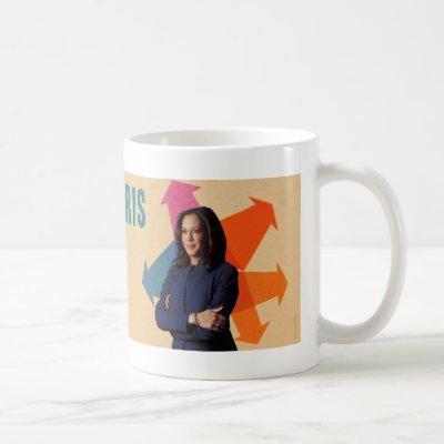 Kamala Harris Ready on Day One mug
