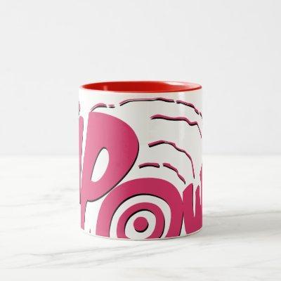 KAPOW! Two-Tone COFFEE MUG