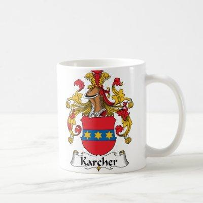 Karcher Family Crest Coffee Mug