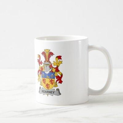 Kearney Family Crest Coffee Mug