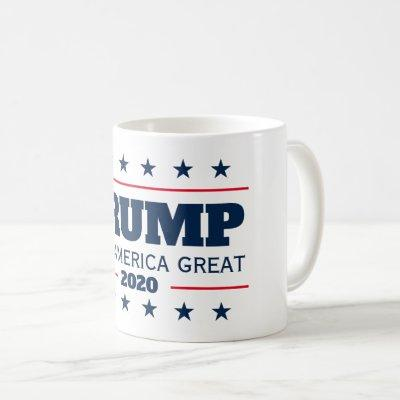 Keep America Great Donald Trump 2020 election Coffee Mug