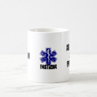 Keep Calm All Bleeding Stops Eventually Coffee Mug