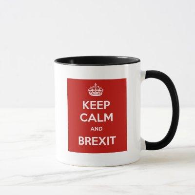 Keep Calm and Brexit Mug