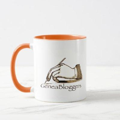 Keep Calm GeneaBloggers Mug
