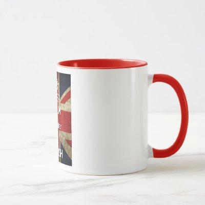 Keep Calm Gibraltar Is British Mug