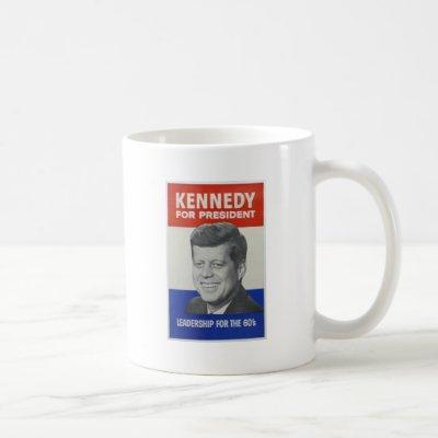 Kennedy For President Coffee Mug