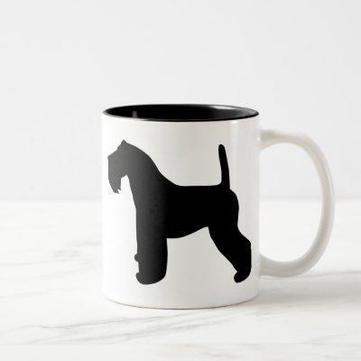 KerryBlueTerrier Gear Two-Tone Coffee Mug