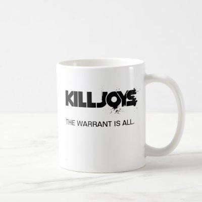 Killjoys Team Name List White Mug
