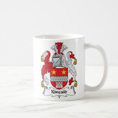 Kincaid Family Crest Coffee Mug